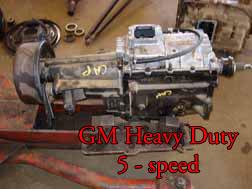 GM Heavy Duty 5 Speed