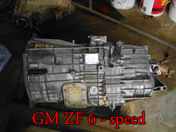 GM ZF 6 Speed
